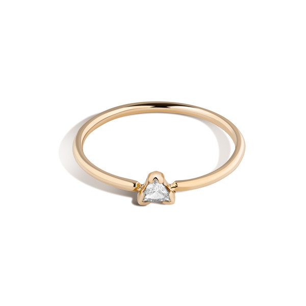 Shahla Karimi 14K Gold Birthstone Ring No. 1