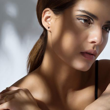 Shahla Karimi 14K Gold Birthstone Ear Jacket