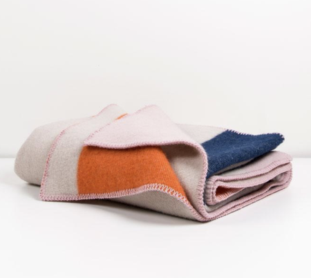ZigZagZurich Bauhaused 2 wool blanket