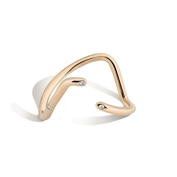 Shahla Karimi 14K Gold Subway Ring - UWS to LES