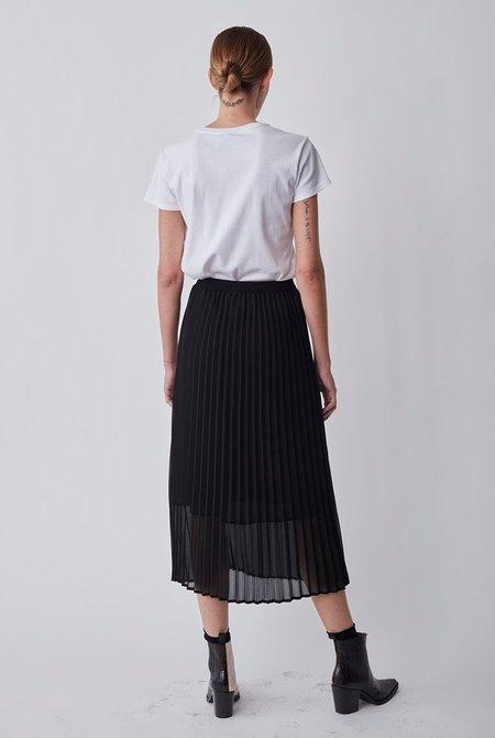 Just Female Roe Pleated Skirt - Black