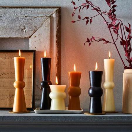 GREENTREE HOME Josee Pillar Candles