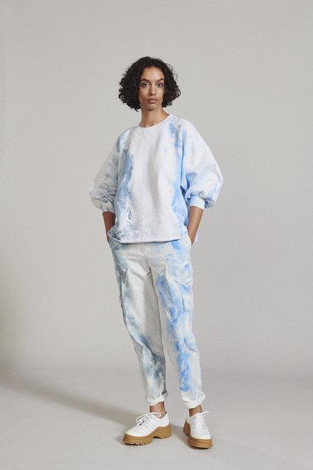 Rachel Comey Fond Sweatshirt - Marble Dyed Ink