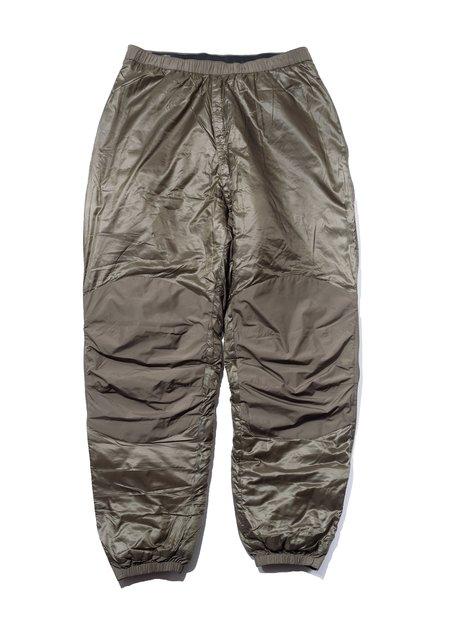 Vintage Patagonia MARS Lv7 Micro Puff XL Special Pants - Alpha green