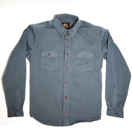 Indigofera Alamo Shirt - Grey Blue