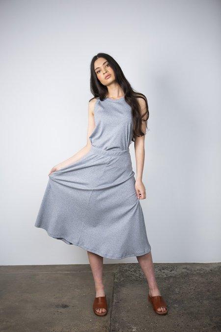 Lois Hazel Rib Skirt - Coastal