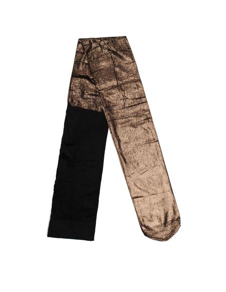 Ann Demeulemeester Bronze Polyamid pantyhose