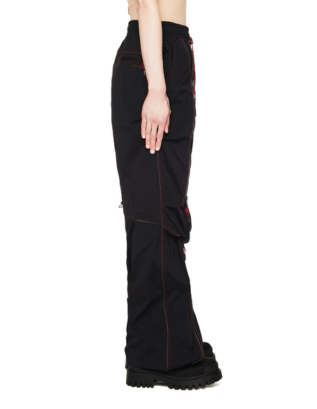 99% IS- Trousers - Black/Red