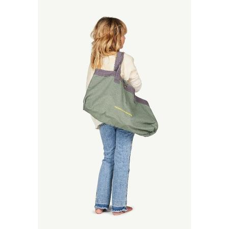 Kids the animals observatory big canvas bag - Military Green
