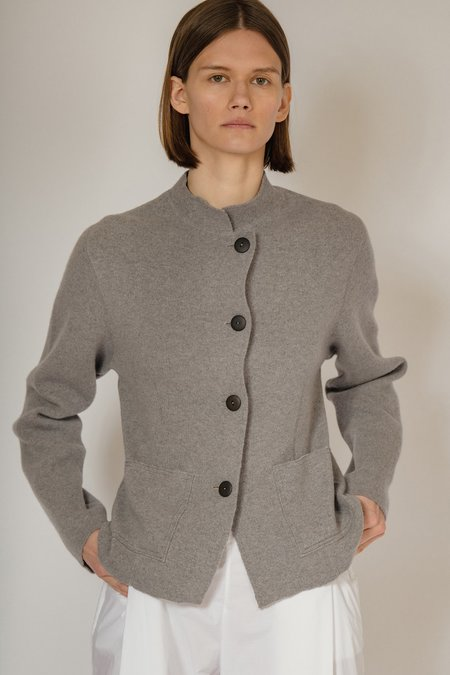 OYUNA Niaz Luxury Cashmere and Wool Jacket - Shark