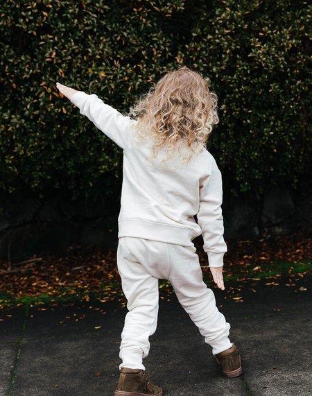 Kids Noble Organic Sweatpants - Oat Milk