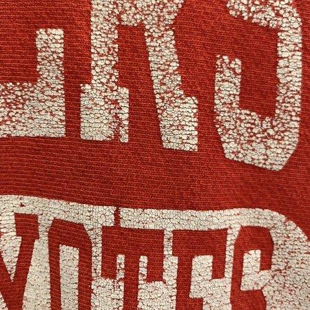 Vintage 90's Champion Reverse Weave Crewneck Sweatshirt - Red/White