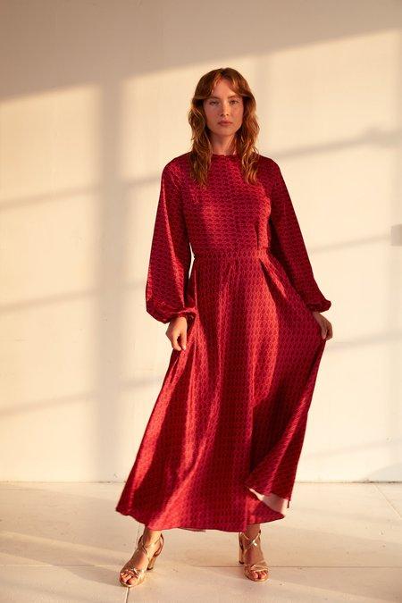 Cras Lai dress - RED