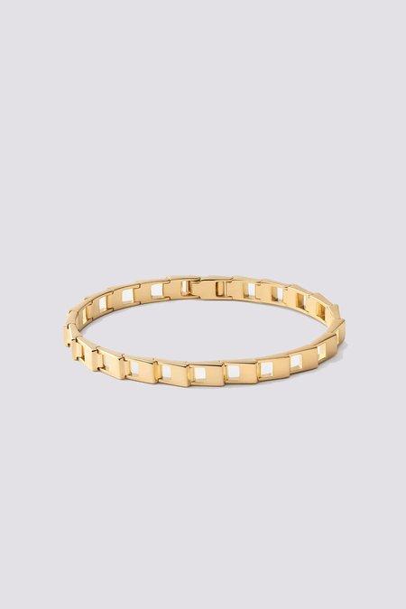 Miansai Cava Bracelet - Gold Vermeil