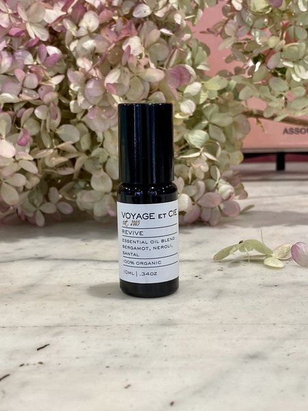 Voyage et Cie Aromatherapy Organic Roll-Ons