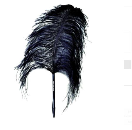 Martin Margiela Feather Pen - Ostrich