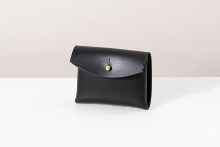 Foxtrot Studio Button Wallet - Black
