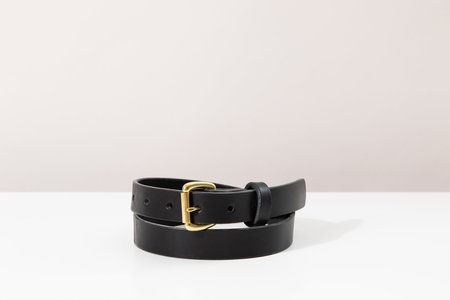 Foxtrot Studio Slim Belt - Black