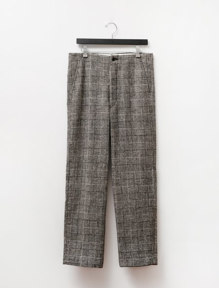 Bode Basket Molloy Trousers - Black/White