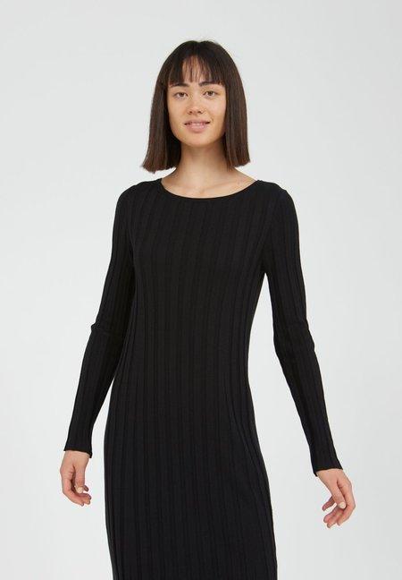 Armedangels Euphoria Knit made of Organic Cotton Mix Dress - black