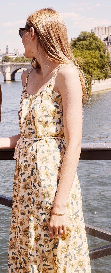 Louise Misha Chamane Dress - Cream Flowers