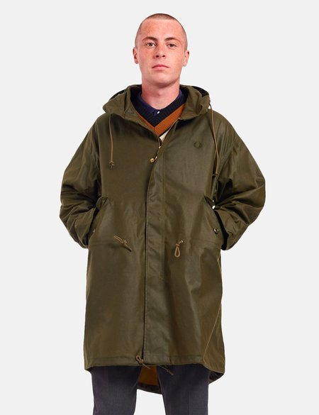 Fred Perry Made in England Parka - Military Green