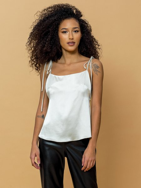 Leigh NY Kimberly Top - Champagne