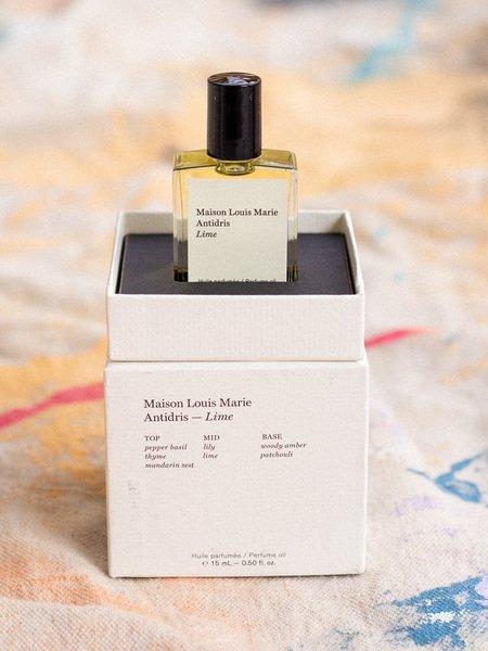 Maison Louis Marie Antidris Lime Perfume Oil