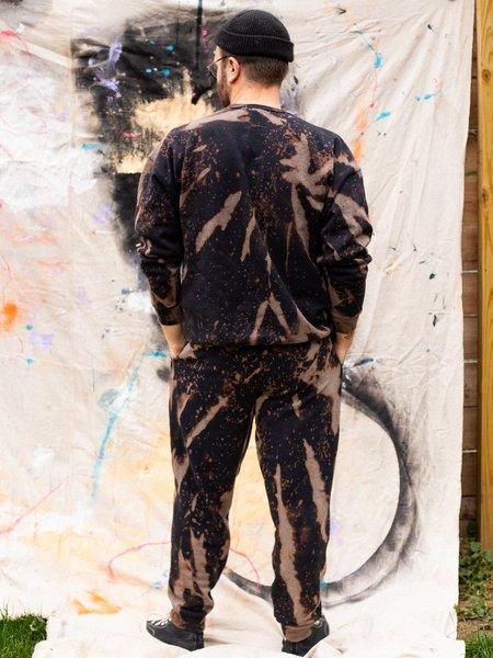 Unisex Cloudy Dyes Tie Dye Sweatsuit