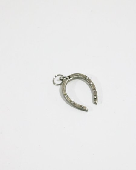 [pre-loved] Philip Crangi Horseshoe Charm - Silver