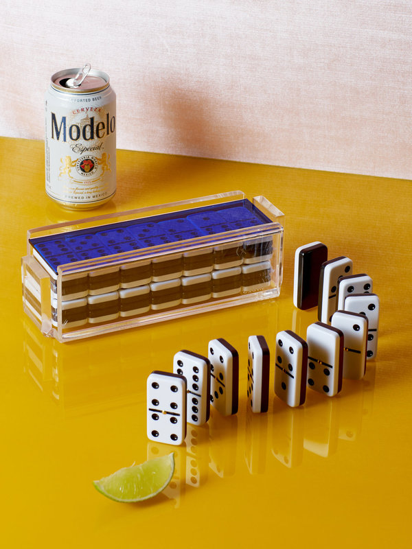 Coming Soon Luxe Domino Set with Spinners