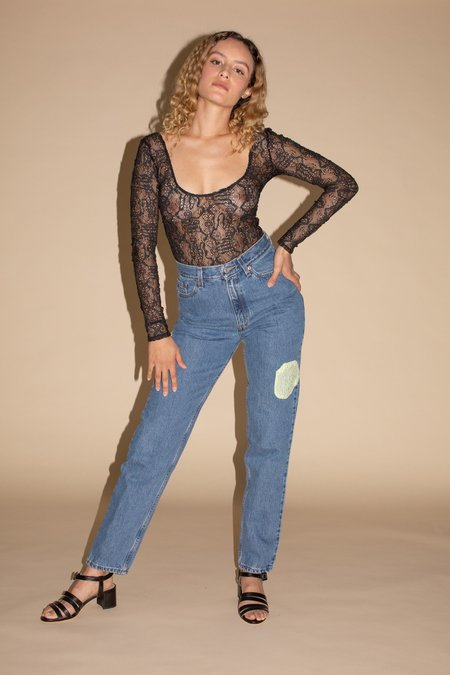 Maryam Nassir Zadeh Atlas Jeans - Denim