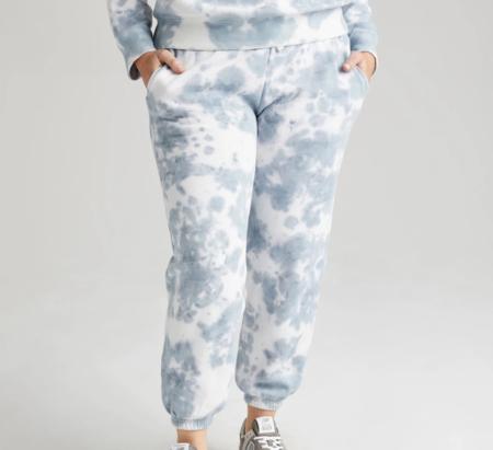 Richer Poorer Recycled Fleece Sweatpant - Blue Mirage
