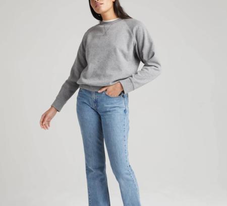 Richer Poorer Recycled Fleece Sweatshirt - Heather Grey