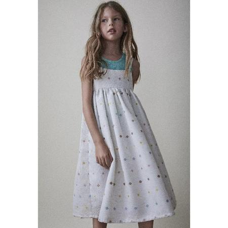 kids the new society cecile dress - off-white