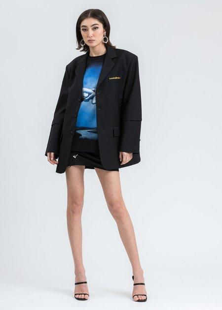 Ann Andelman Oversized Blazer - Black