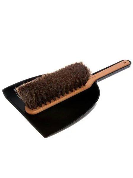Iris Hantverk Dustpan & Brush Set Black & Beech