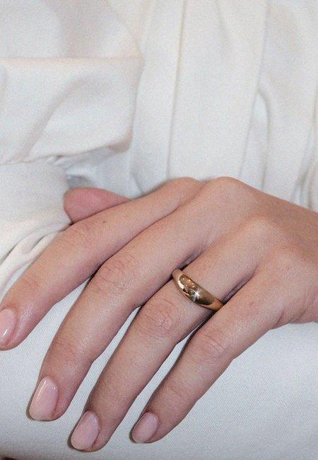 Meadowlark Claude Ring Plain - silver