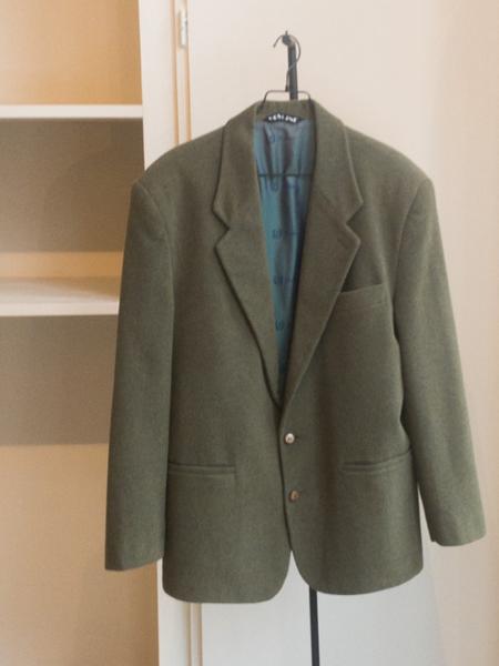 Vintage Wool Blazer - Green