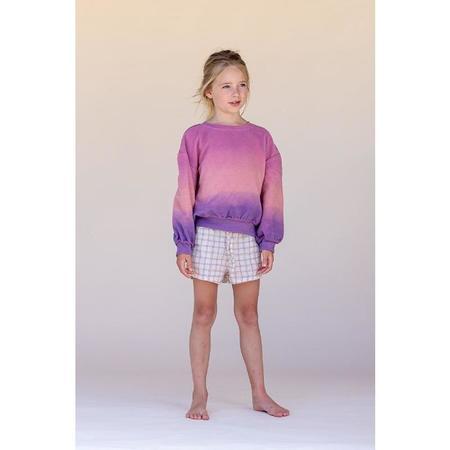 kids long live the queen sweatshirt - Purple/Pink