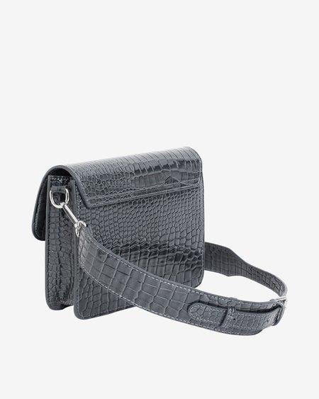Hvisk Cayman Pocket Bag - Grey Dark