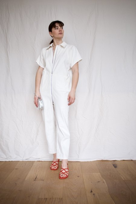 Rachel Comey Barrie Jumpsuit - Off White