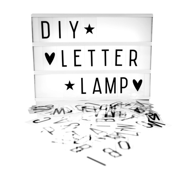 A Lovely Little Company BIG LIGHTBOX - BLACK
