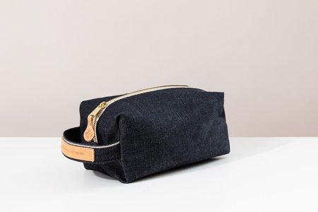Foxtrot Studio Travel Kit bag - Denim