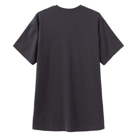 Matter Matters C Is For Copy T Shirt Dress - Charcoal