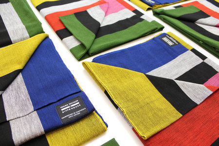 DittoHouse multi-color Stripe Blanket