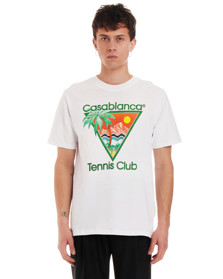 Casablanca Tennis Club Icon t-shirt - white