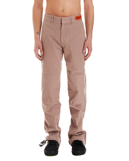 Heron Preston Garment dyed chino pants - light gray