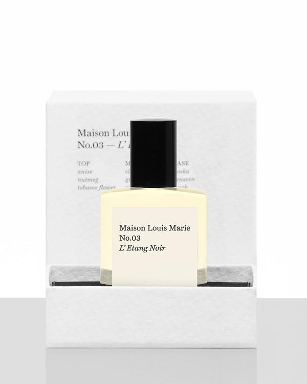 Maison Louis Marie No.03 L'Etang Noir - Perfume oil