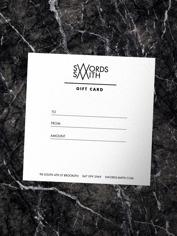 SWORDS-SMITH Gift Card
